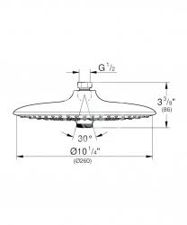 GROHE - Euphoria SmartControl Hlavová sprcha 260, 3 prúdy, chróm (26456000), fotografie 2/1