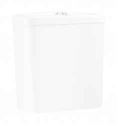 GROHE - Bau Ceramic Splachovacia nádrž k WC kombi, 343x153 mm, spodný prívod vody, alpská biela (39436000)