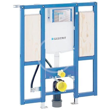 GEBERIT - Duofix Montážny prvok na závesné WC, 112 cm, splachovacia nádržka pod omietku Sigma 12 cm, bezbariérový, pre podpery 111.375.00.5