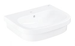 GROHE - Euro Ceramic Umývadlo s prepadom, 600x480 mm, alpská biela (39337000)