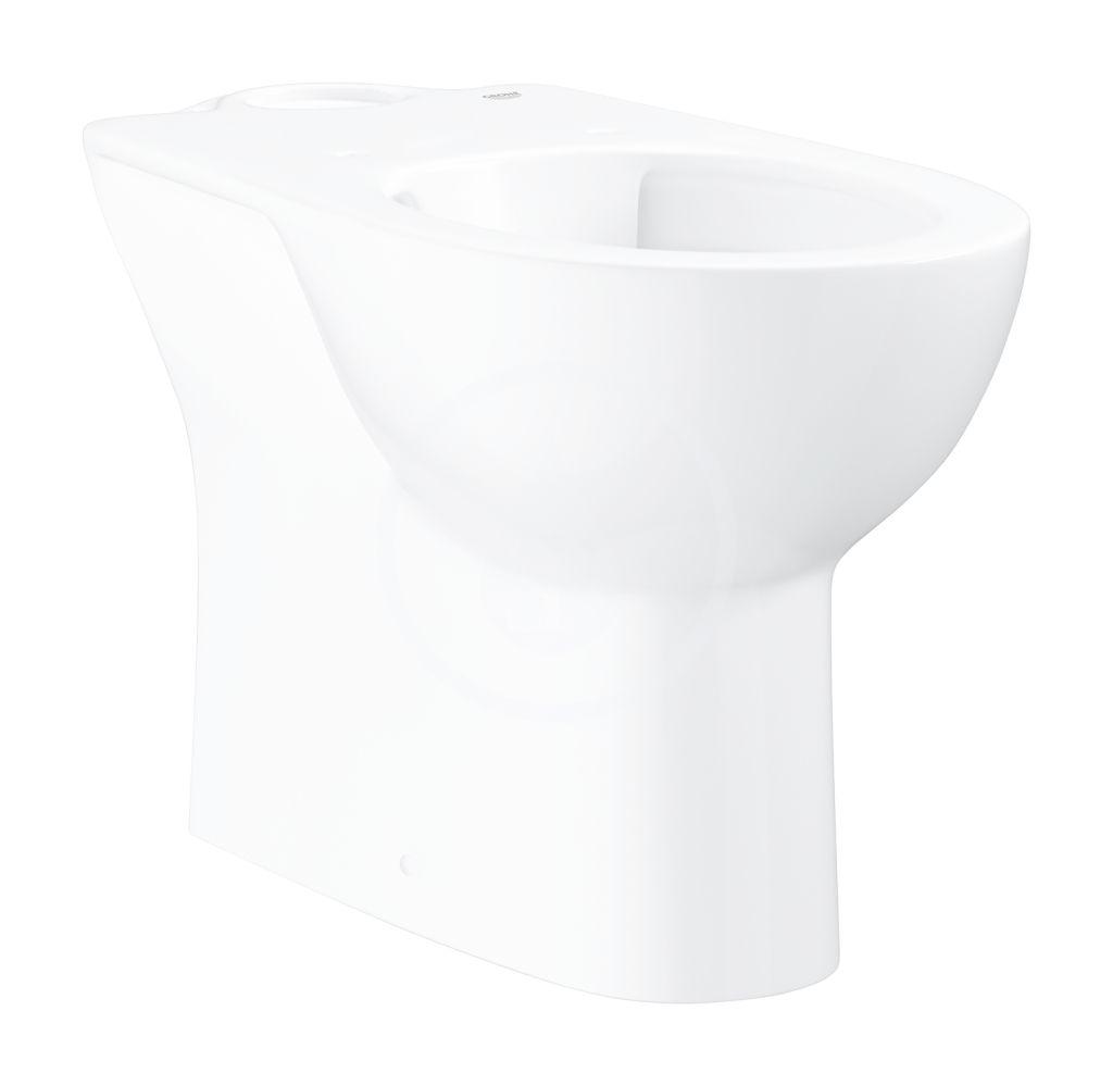 GROHE - Bau Ceramic WC kombi misa, rimless, alpská biela 39429000
