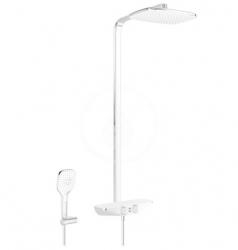 HANSA - Emotion Sprchový set Wellfit s termostatom, 360x220 mm, biela/chróm (5865017282)