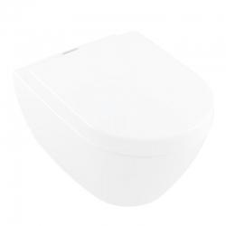 VILLEROY & BOCH - Subway 2.0 Závesný klozet, hlboké splachovanie, 370 mmx560 mm – antibakteriálny s CeramicPlus, alpská biela (5614A1T2)