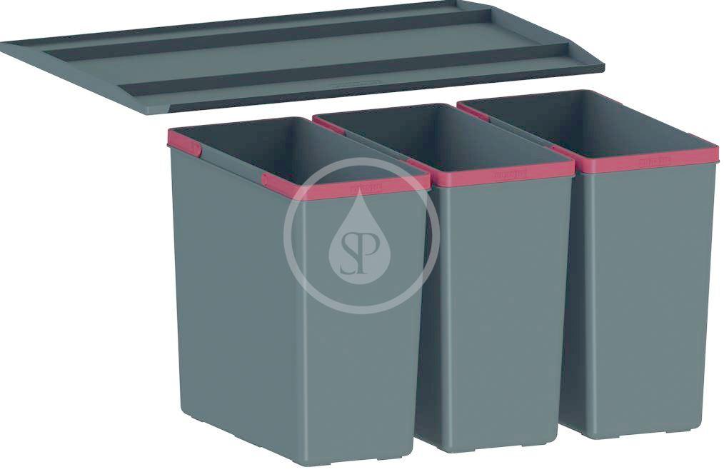FRANKE FRANKE - Sortery Vestavný odpadkový koš Easysort 600-3-0 (121.0494.192)