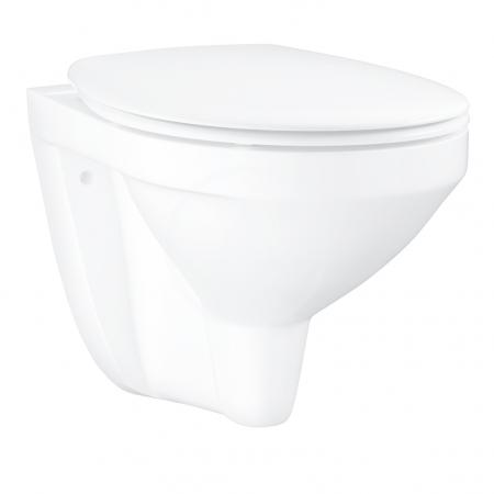 GROHE - Bau Ceramic Závesné WC so sedadlom softclose, alpská biela (39497000)