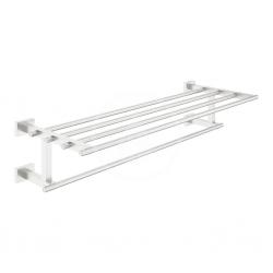GROHE - Essentials Cube Držiak na osušky, supersteel (40512DC1)