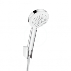 HANSGROHE - Crometta 100 Ručná sprcha 1jet/Porter´S, súprava 1,25 m, biela/chróm (26664400)