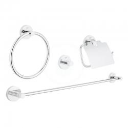 GROHE - Essentials Súprava doplnkov do kúpeľne 4 v 1, chróm (40776001)