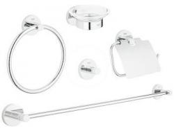 GROHE - Essentials Súprava doplnkov do kúpeľne 5 v 1, chróm (40344001)