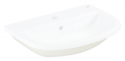GROHE - Bau Ceramic Umývadlo nábytkové 560x400 mm, s 1 otvorom na batériu, alpská biela (39422000)