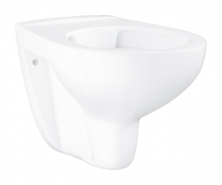 GROHE - Bau Ceramic Závesné WC, rimless, alpská biela (39427000)