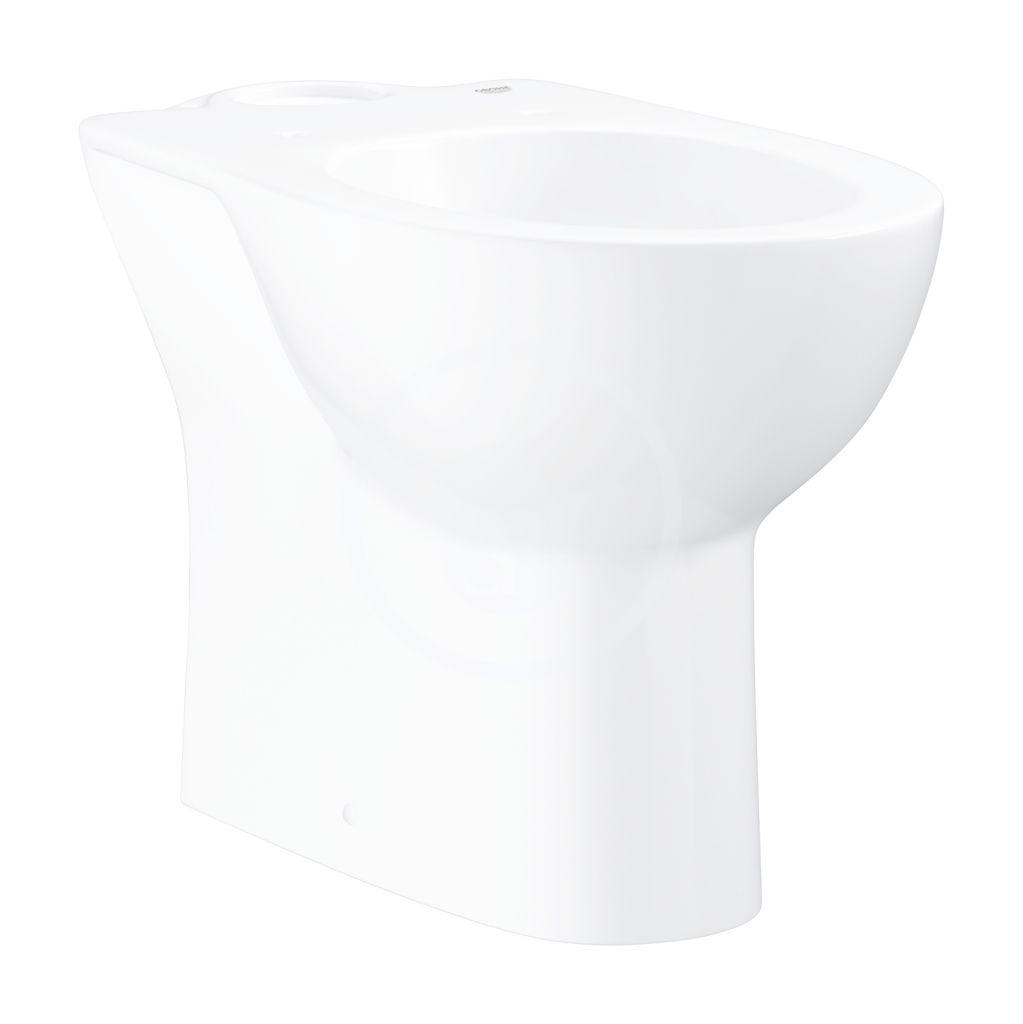 GROHE - Bau Ceramic WC kombi misa, alpská biela 39428000