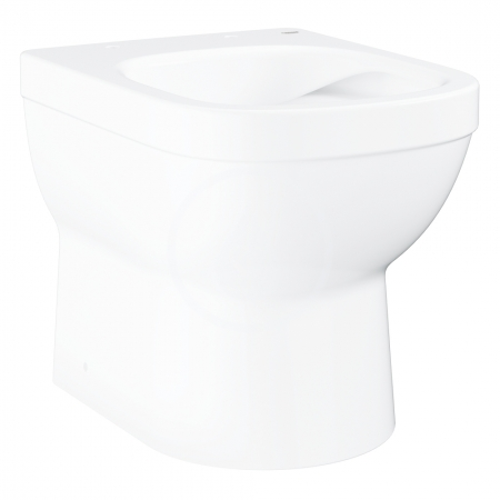 GROHE - Euro Ceramic Stojacie WC, rimless, alpská biela (39329000)