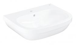 GROHE - Euro Ceramic Umývadlo s prepadom, 650mm x 515 mm, alpská biela (39323000)