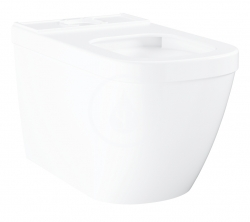 GROHE - Euro Ceramic WC kombi misa, rimless, Triple Vortex, alpská biela (39338000)