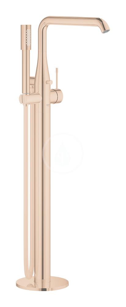 GROHE - Essence Páková vanová baterie na podlahu, Warm Sunset (23491DA1)