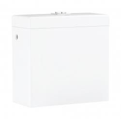 GROHE - Cube Ceramic Splachovacia nádrž, 370mm x 170mm, bočné napúšťanie, alpská biela (39489000)