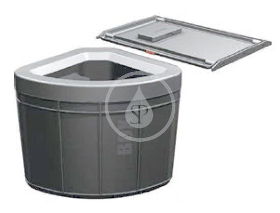 FRANKE FRANKE - Sortery Vestavný odpadkový koš 45, černá (121.0307.565)