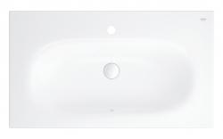 GROHE - Essence Umývadlo s prepadom 800x460 mm, PureGuard, alpská biela (3956700H)