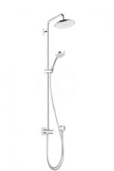 HANSGROHE - Croma 220 Sprchový set Reno, 220 mm, sprchové rameno 400 mm, 1 prúd, chróm (27224000)