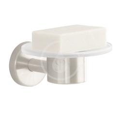 HANSGROHE - Logis Miska na mydlo sklenená, kefovaný nikel (40515820)