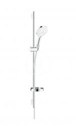 HANSGROHE - Raindance Select S Sprchová súprava 120, 3 prúdy, EcoSmart 9 l/min, biela/chróm (26633400)