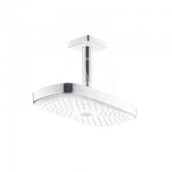 HANSGROHE - Raindance Select E Hlavová sprcha 300, 2 prúdy, sprchové rameno 100 mm, biela/chróm (27384400)