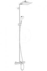 HANSGROHE - Crometta Sprchová súprava E 240 Showerpipe k vani termostat, chróm (27298000)