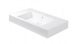 DURAVIT - Vero Bezotvorové umývadlo do nábytku s prepadom, 850 mmx490 mm, biele (0329850060)