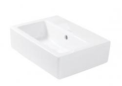DURAVIT - Vero Bezotvorové umývadielko s prepadom, 450 mmx350 mm, biele (0704450060)