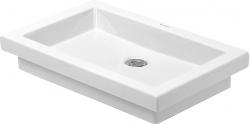 DURAVIT - 2nd floor Bezotvorové umývadlo bez prepadu, 580 mmx415 mm, biele – umývadlo (0317580029)