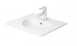 DURAVIT - Darling New Jednootvorové umývadlo do nábytku s prepadom, 530 mmx430 mm, biele – umývadlo (0499530000)