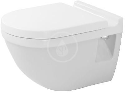 DURAVIT - Starck 3 Závesný klozet, 360 mmx540 mm, biely – klozet (2200090000)