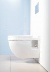 DURAVIT - Starck 3 Závesný klozet, 360 mmx540 mm, biely – klozet (2200090000), fotografie 6/3