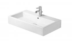 DURAVIT - Vero Umývadlo s prepadom, 800 mmx470 mm, biele – trojotvorové umývadlo (0454800030)