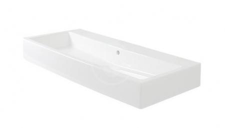 DURAVIT - Vero Umývadlo s prepadom, 800 mmx470 mm, biele – bezotvorové umývadlo (0454800060)