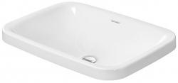 DURAVIT - DuraStyle Bezotvorové umývadlo bez prepadu, 600 mmx430 mm, biele – umývadlo (0372600000)