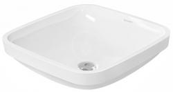 DURAVIT - DuraStyle Bezotvorové umývadlo bez prepadu, 370 mmx370 mm, biele – umývadlo (0373370000)