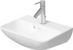 DURAVIT - ME by Starck Bezotvorové umývadielko s prepadom, 450x320 mm, biele – umývadielko (0719450010)