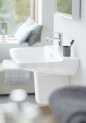 DURAVIT - P3 Comforts Umývadlo s prepadom, 650 mmx500 mm, biele – jednootvorové umývadlo (2331650000), fotografie 6/3