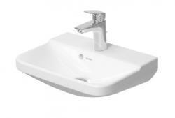 DURAVIT - P3 Comforts Umývadielko s prepadom, 450 mmx320 mm, biele – Jednootvorové umývadielko (0716450000)