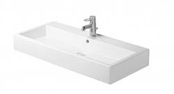 DURAVIT - Vero Trojotvorové umývadlo s prepadom, 1000 mmx470 mm, biele (0454100030)