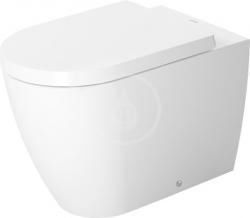 DURAVIT - ME by Starck Stojací klozet, 370 mmx600 mm, biely – s hlbokým splachovaním 4,5 l, s HygieneGlaze (2169092000)