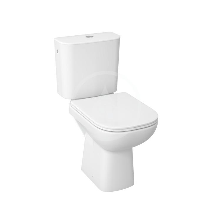 JIKA - Deep WC Kombi včetně nádržky, 650x360x430 mm, zadní odpad, bílá (H8266160002811)