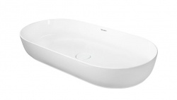 DURAVIT - Luv Umývadlo na dosku, 800x400 mm, DuraCeram, alpská biela (0379800000)
