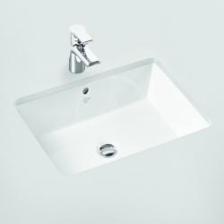 IDEAL STANDARD - Strada Umývadlo pod dosku 595mmx435mmx170mm, biela s Ideal plus (K0779MA), fotografie 2/2