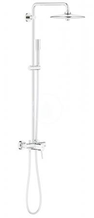 GROHE - Euphoria Concetto Sprchový systém 260 s pákovou nástennou batériou, chróm (23061002)