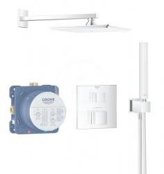 GROHE - Grohtherm Cube Sprchový set Rainshower Allure 230 s termostatom pod omietku, chróm (34741000)