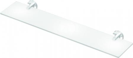 IDEAL STANDARD - IOM Sklenená polička 520x138x48mm, satinované sklo, chróm (A9124AA)