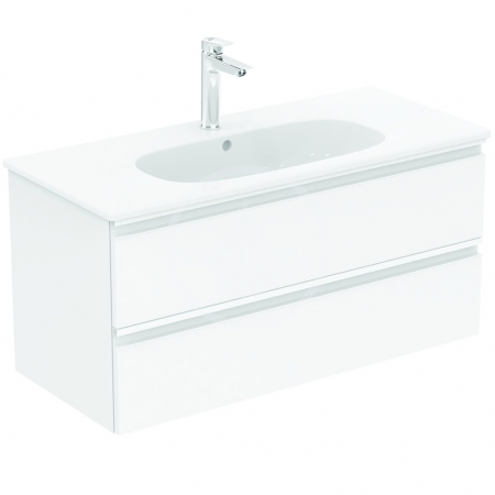 IDEAL STANDARD - Tesi Skrinka pod umývadlo, 1000x440x490 mm, lesklá biela (T0052OV)